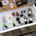 ケーニッヒ - ビールが冷やされてます