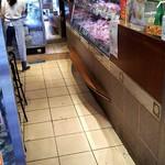 ケーニッヒ - 店内では肉の加工品も売られてます