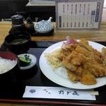 乃ざ喜 - 豚カツ定食