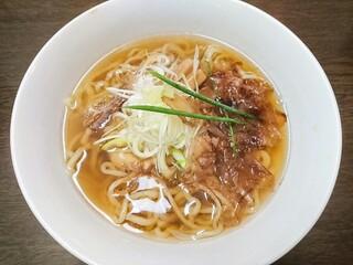 手打ち麺 やす田 - カツオ醤油 700円