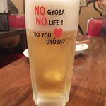 餃子バル 餃子家 龍 - (H28.5)生ビール
