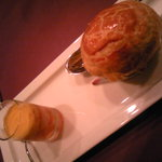 アンサンブル - エスカルゴのパイ包みは絶品です!&パンプキンスープ♪