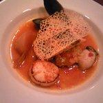 アンサンブル - ラタトゥユベースのお魚料理