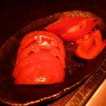 花 - トマトサラダ