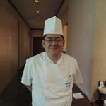 53994609 - 新しい料理長の今井さん。ご挨拶頂きました。