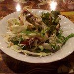 インド料理モハン - ランチサラダ(2016.6)