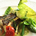 オテル・ド・ヨシノ - 本日のお魚料理