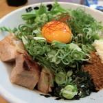 53996074 - 肉メンのせ和え麺