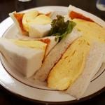 喫茶ガボール - コロナのたまごサンド(680円)