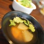 ソイ マルヤマ - スープ