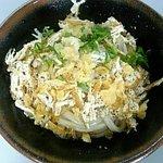 岡製麺所 - 料理写真:ぶっかけ あげ1玉