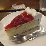 上島珈琲店 - イチゴのケーキ
