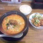 54003156 - 坦々麺定食(¥1000税込)(2016年7月)