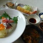54004473 - 選べる丼コース・海鮮丼(2,500円)