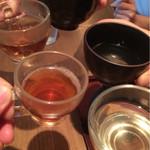 神楽坂 茶寮 - お茶でカンパーイ♪