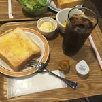 ミッツコーヒースタンド - モーニング Aセット(¥420)