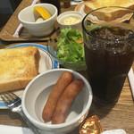 ミッツコーヒースタンド - モーニング Bセット(¥470)