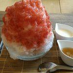 54005616 - 苺ミルクカキ氷