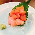 だんだん - 赤貝の刺身