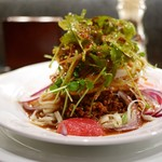 中華そば すずらん - 口水鶏涼麺