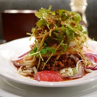 中華そば すずらん - 料理写真:口水鶏涼麺
