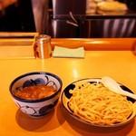青葉 - つけめん(太麺)