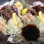 魚蔵 - 鰹のタタキ(ふぐコース料理・10品コース)