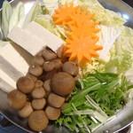 魚蔵 - 濃厚白子入り 極ふぐちり鍋(ふぐコース料理・10品コース)