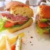 ダブルサンドウィッチ - 料理写真:B.L.T.A.サンド