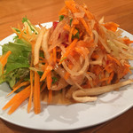 パッポンキッチン - 青いパパイヤのサラダ