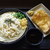 Udonshokudousen - 料理写真:ざるうどん:かしわ天