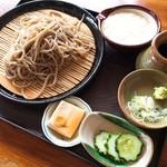壱乃蔵 - とろろ蕎麦(冷)(税抜780円)