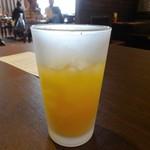 鎌倉パスタ - オレンジジュース