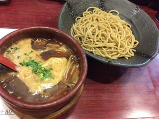 麺や つるり 新潟小千谷流 - 『醤油つけ麺』810円。