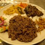 スリランカ料理 ラサハラ - セイロンプレート(キーマ)