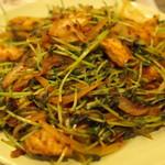 スリランカ料理 ラサハラ - 豆苗のテンパラード