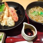 花旬庵 - 天丼・蕎麦ランチ