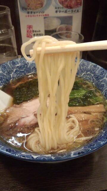 肉厚わんたん麺と手作り焼売 ら麺亭 - 麺