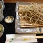 蕎麦切り こばやし - 香味¥900