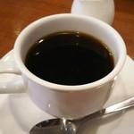ブレイク - ハーフサンドイッチセットのコーヒー★サイフォンでいれてます。