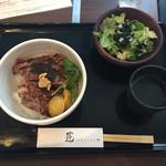 54022269 - リブロースステーキ丼 ¥1,450-