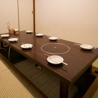 個室もあります♪宴会や女子会にもオススメです