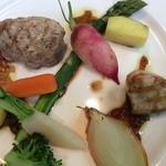 わにの家 - 料理写真:ホエー豚のヒレ肉バルサミコのソース