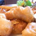 TONDAMACHI CAFE - 鱈ではなく「おじさん」という魚