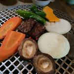 グルメリア但馬 - ★★★★ 神戸高見牛 網焼きランチコース