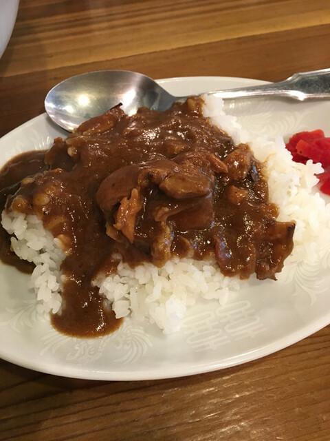 穀雨 - ミニカレー ¥180
