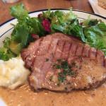 BISTRO BROOK KITCHEN(熟成肉ビストロ) - 豚肩肉のロースト