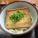 上田うどん店 - キツネうどん(冷)