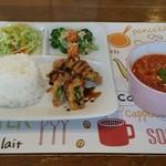 気ままcafe 日和 - 料理写真:ワンコインランチプレート