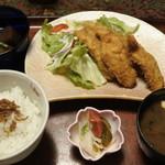魚処 豆狸 - 料理写真:魚フライ定食@1,620